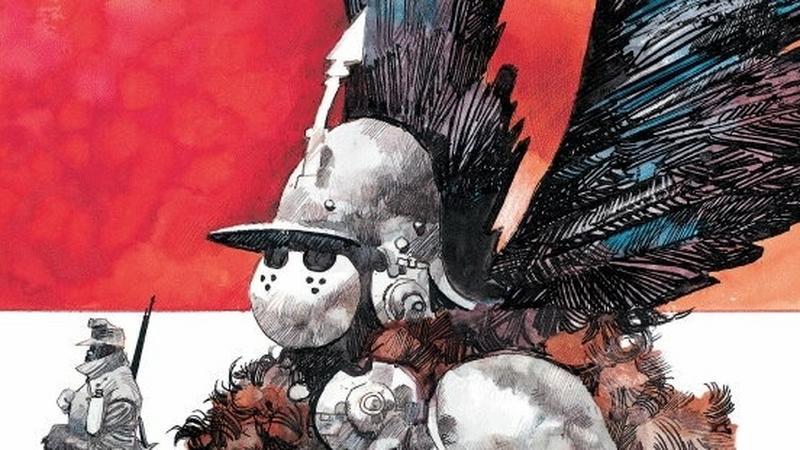 """""""Magia i miecz"""" (fragment okładki komiksu)"""