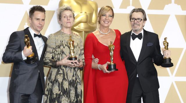 Nagrađeni glumci: Sem Rokvel, Franses Mekdormand, Alison Dženi i Gari Oldman