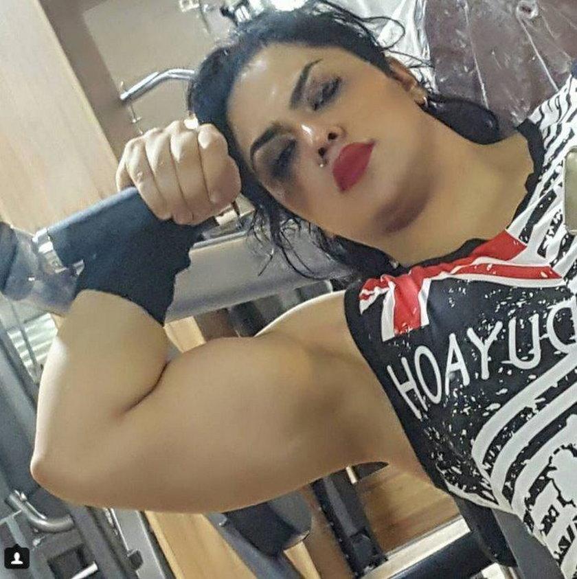 Pokazała bicepsy, a teraz ma problemy z prawem