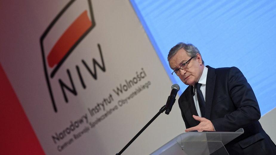 Przemówienie wicepremiera Piotra Glińskiego na konferencji zorganizowanej przez Narodowy Instytut Wolności