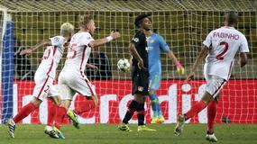 Pojedynek maskotek AS Monaco i Bayeru Leverkusen