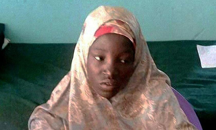 Amina Ali jedna z 219 dziewczynek porwanych w kwietniu 2014 roku  przez Boko Haram została odnaleziona w lesie Sambisa