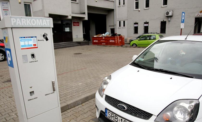 Parkomat w Katowicach