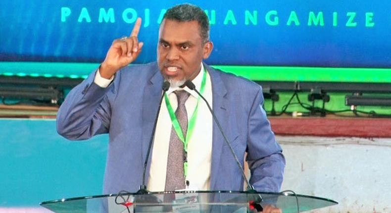 Director of Public Prosecutions (DPP) Noordin Haji