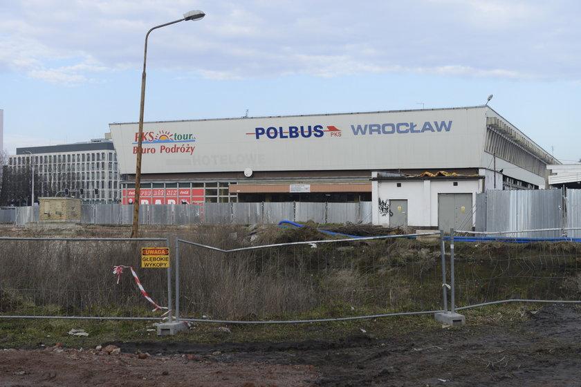 Przebudowa dworca PKS we Wrocławiu