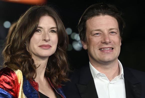 Džejmi Oliver sa suprugom