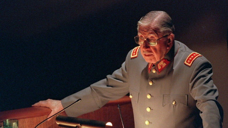 Augusto Pinochet, pictured in 1997, became Chile's dictator soon after a military coup that killed Frei's successor, Salvador Allende, in 1973