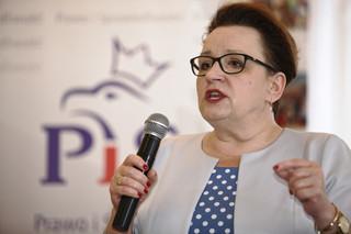 Zalewska o sukcesach rządu PiS: 500+, obniżenie wieku emerytalnego i uszczelnienie luki VAT