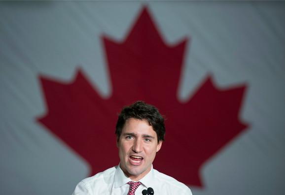 Džastin Trudo, kanadski premijer