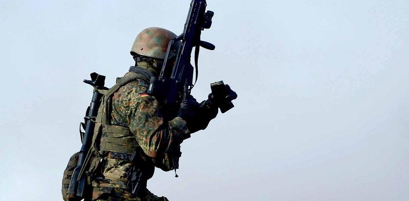 Oficer Bundeswehry udawał uchodźcę i szykował zamach!