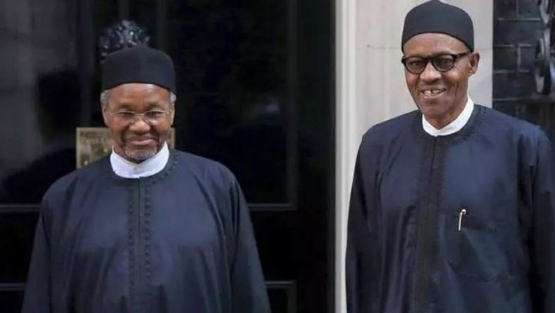 77-year-old President Buhari (right) is 80-year-old Mamman Daura's uncle [Daily Nigeria]