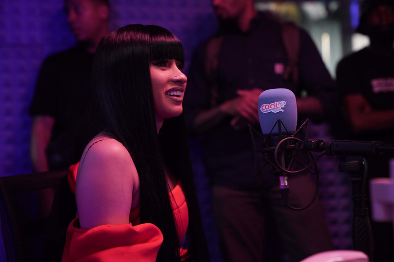 Cool FM hosts Cardi B in first ever live radio interview in Nigeria