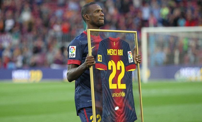 Eric Abidal (35 l.) wraca do Barcelony!