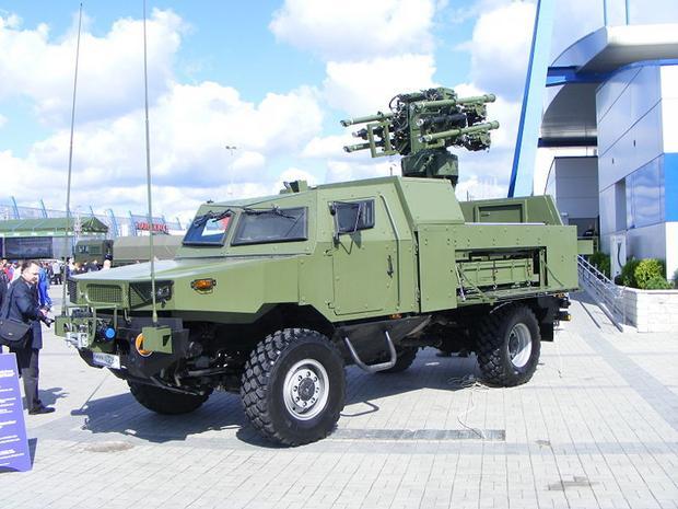 Samobieżny rakietowy zestaw przeciwlotniczy POPRAD