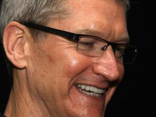 Tim Cook Apple twarz