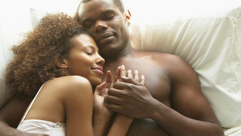 cuddling after sex