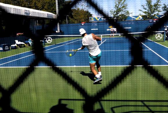Rafael Nadal je pred početak US Opena trenira sa Dušanom Lajovićem