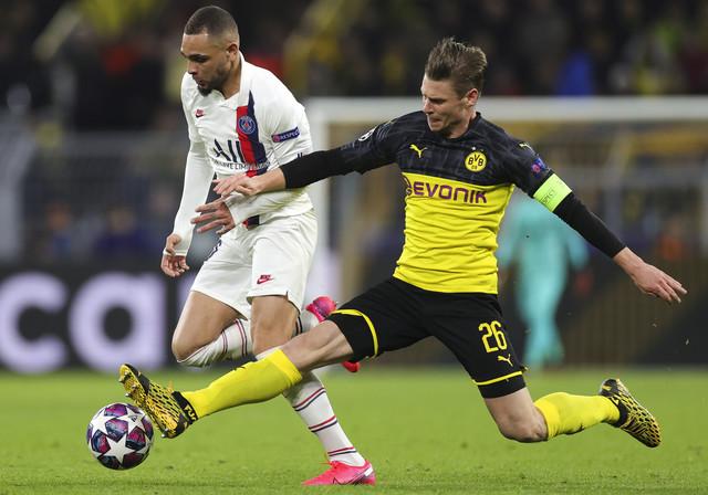 Lajvin Kurzava na meču sa Borusijom iz Dortmunda