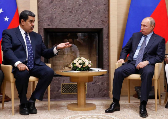Maduro i Putin