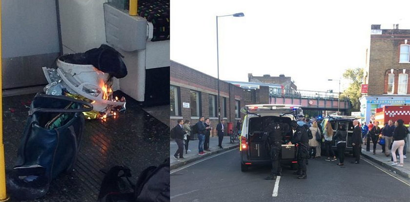 Kolejny atak w Londynie? Wcześniej wybuch w metrze