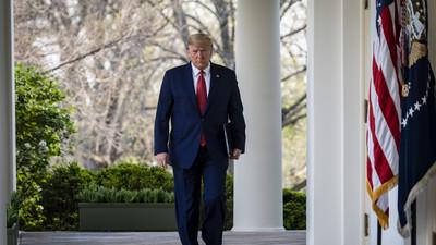 President Trump's Prime-Time Pandemic