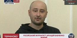 Arkadij Babczenko jednak żyje! To był podstęp