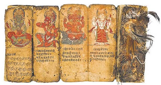 Podręcznik nepalskiego dźhankri (szamana) z XVIII w.