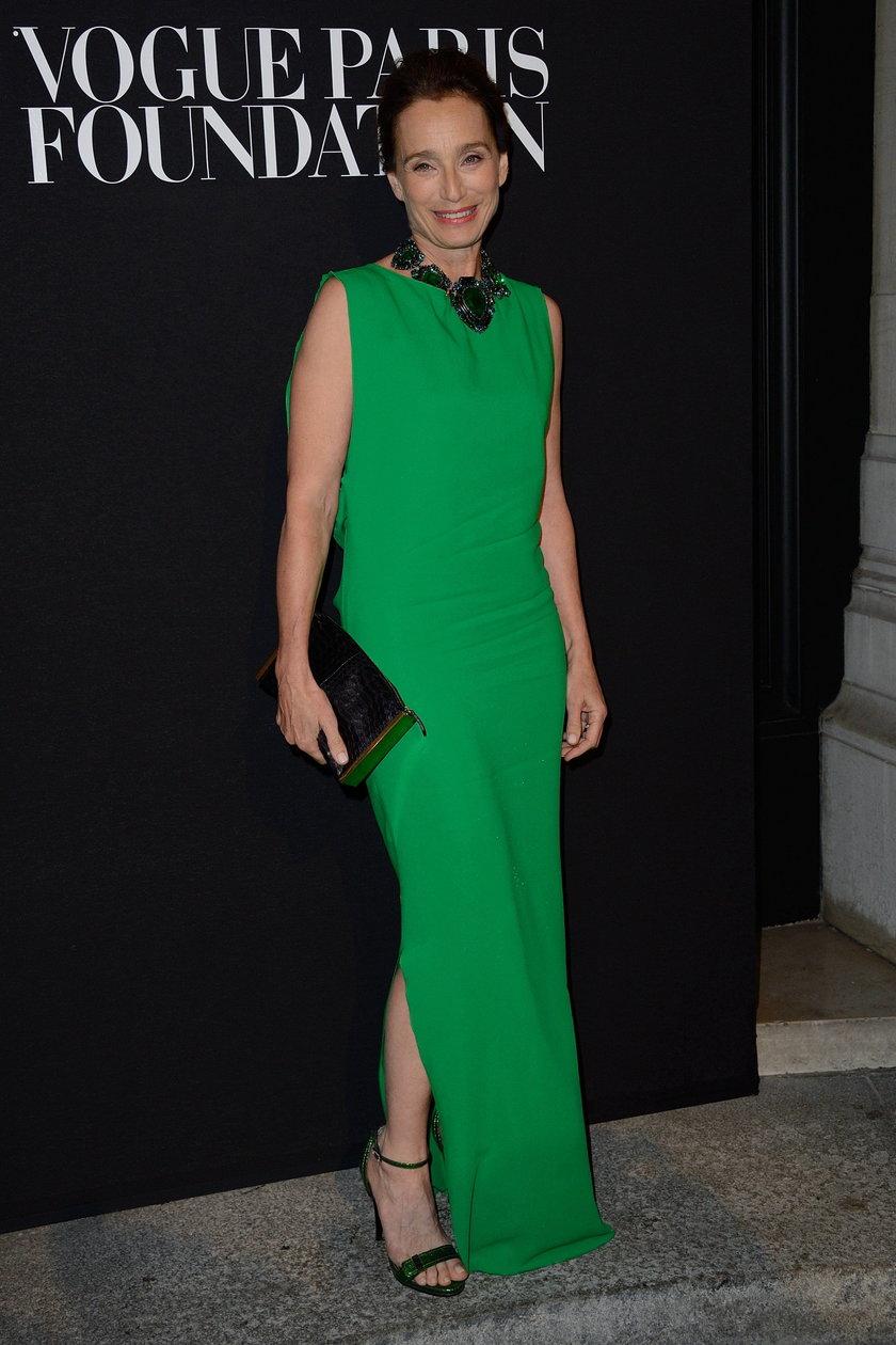 Kristin Scott na gali Vogue Foundation