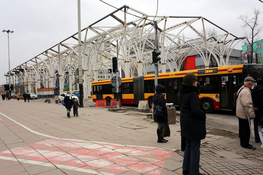 Przyszły przystanek Piotrkowska Centrum
