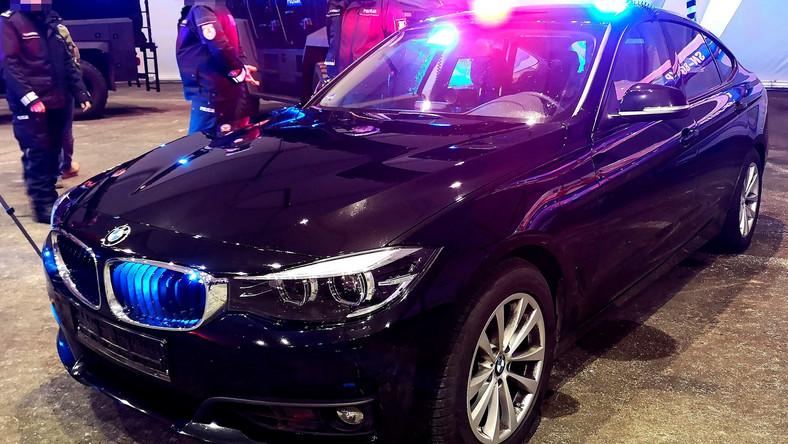 Policja. BMW serii 3 Gran Turismo xDrive