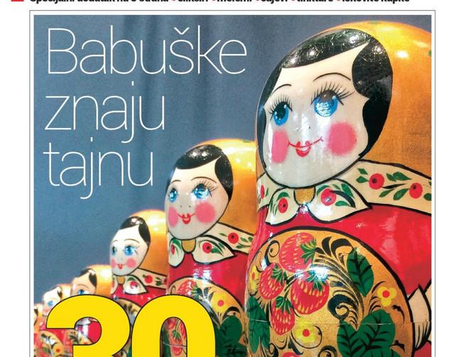 Ruska narodna medicina, specijalni dodatak na 8 strana u novoj BLIC ŽENI