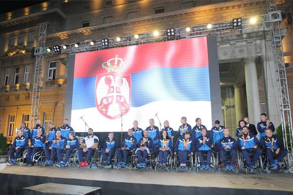 Doček paraolimpijaca posle Igara u Riju 2016.