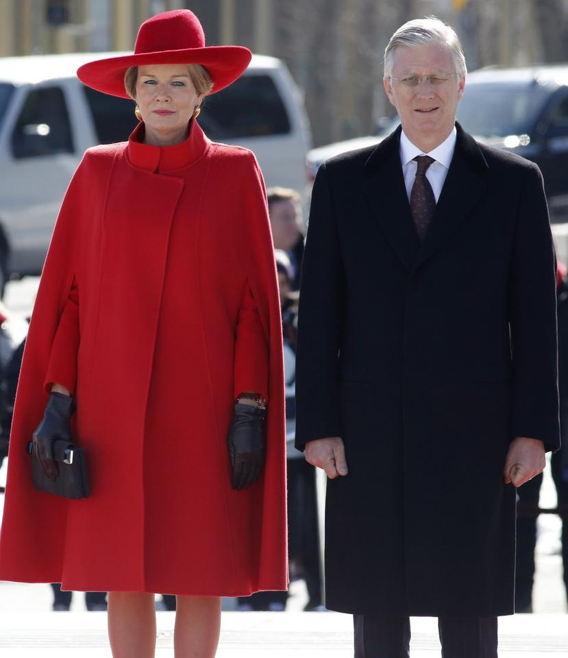 Królowa Belgów Matylda podczas oficjalnej wizyty w Kanadzie