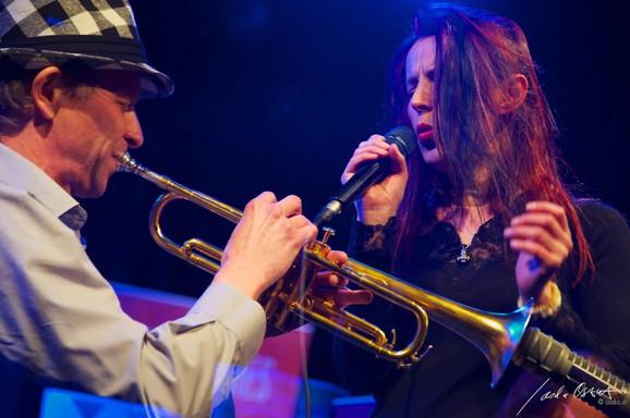 Isabel i Franc na zavšnici festivala