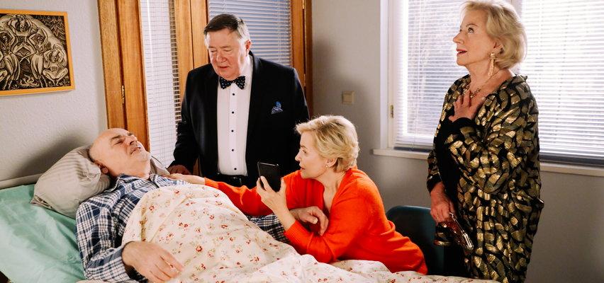 """""""Na Wspólnej"""" odcinek 3300. Roman czeka w szpitalu na operację!"""