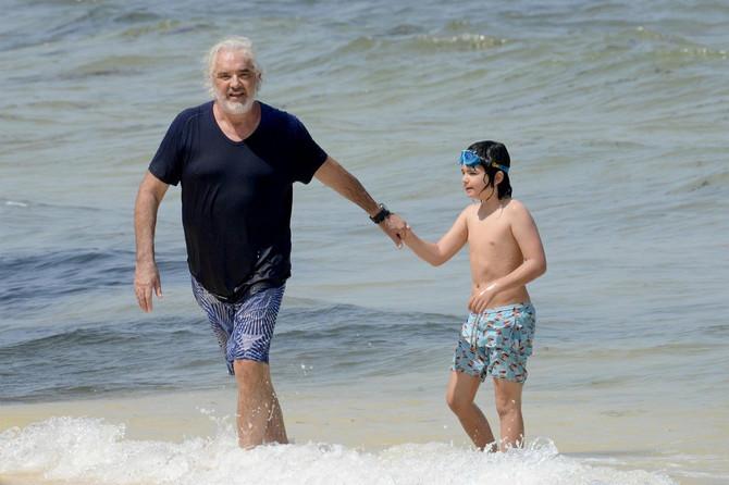 Otac i sin na odmoru