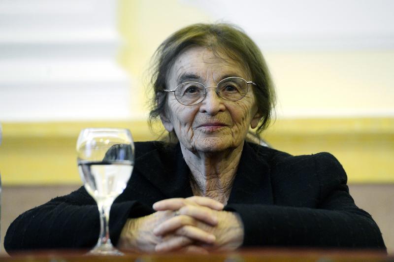 90 évesen vesztette életét Heller Ágnes /Fotó: MTI - Kovács Tamás
