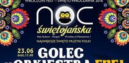 Noc Świętojańska 2016 we Wrocławiu. Będzie się działo!