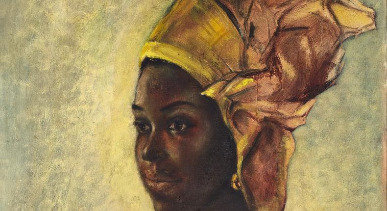 Ben Enwonwu's recently discovered Christine is valued at $200,000 (Sotheby's)