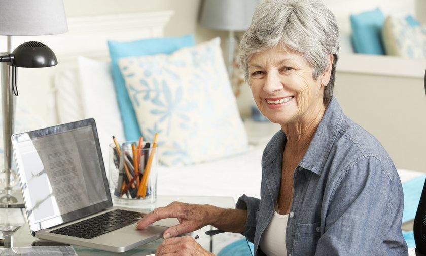 kobieta po 60