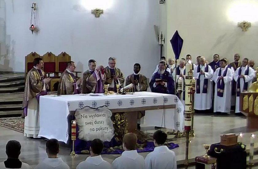 Pogrzeb ks. Adama Bartkowicza