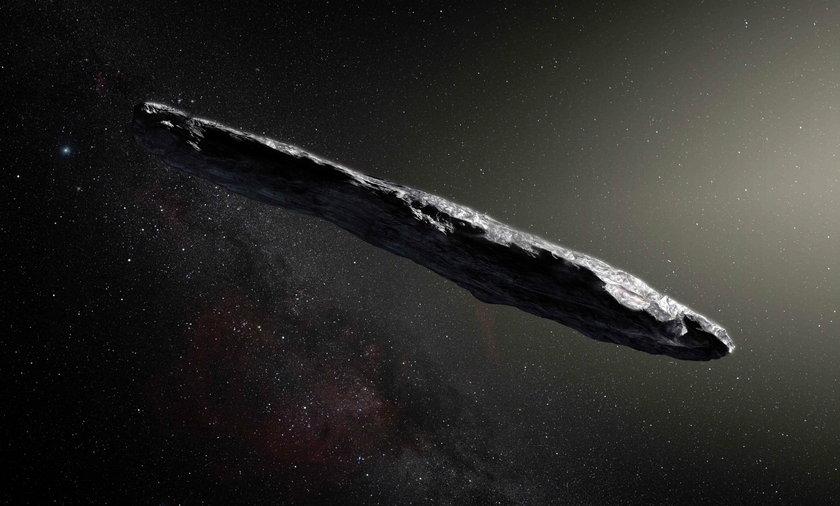 Dziwna asteroida nie z naszej galaktyki w naszym układzie. Naukowcy w szoku