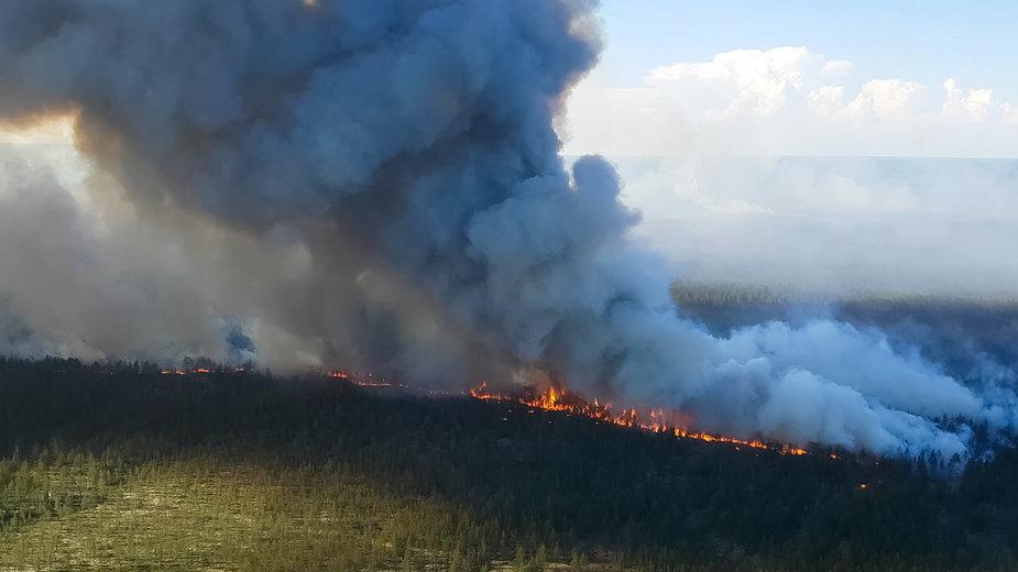 Pożary na Syberii fot. Shutterstock/LuYago