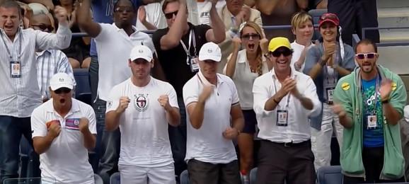 Oduševljenje u Novakovom timu