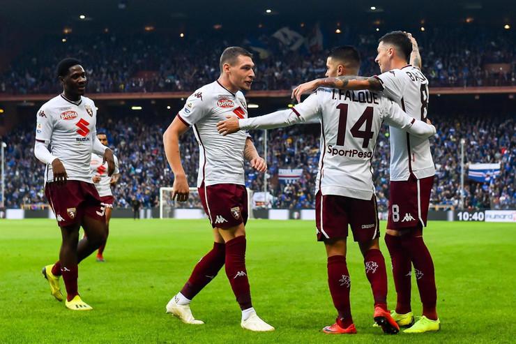 FK Sampdorija, FK Torino
