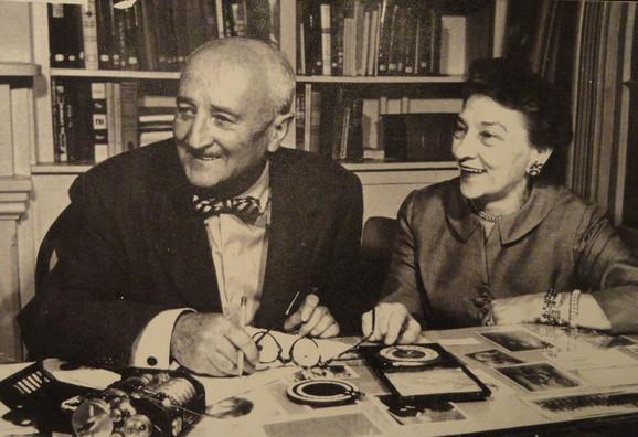 Elizabet Smit se udala za Vilijama Fridmana, takođe stručnjaka za provaljivanje kodova