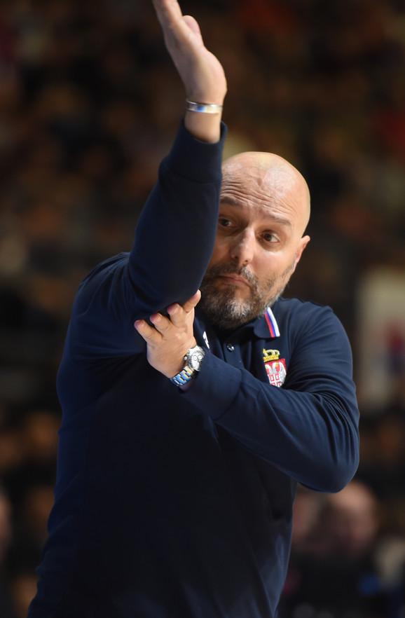 Selektor Aleksandar Đorđević je imao šta da sugeriše igračima