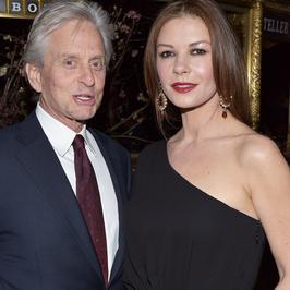 Michael Douglas i Catherine Zeta-Jones pokazali się razem na przyjęciu