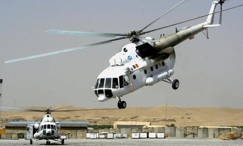 Katastrofa śmigłowca wojskowego w Afganistanie. Nie żyje 12 osób