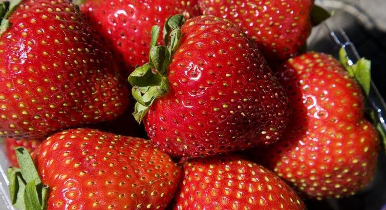 Strawberry benefits(mashable)